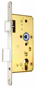 Europrofilú hengerzárbetétes kétcsukású bevésőzár.